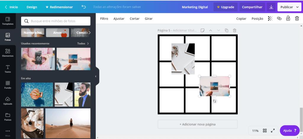 feed mosaico 10 - Feed Mosaico - Como Fazer o Feed Mosaico no Instagram sem Photoshop