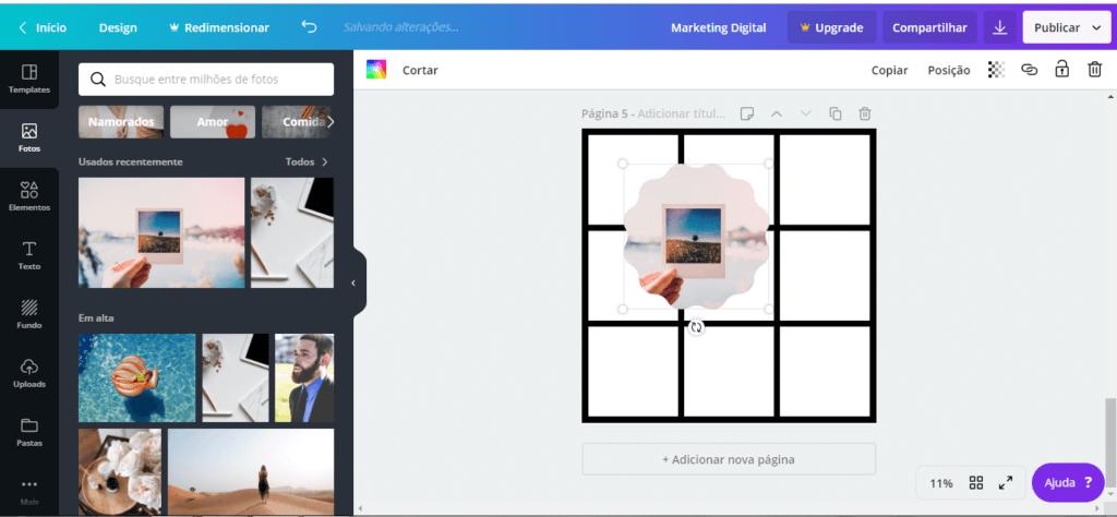 feed mosaico 12 - Feed Mosaico - Como Fazer o Feed Mosaico no Instagram sem Photoshop