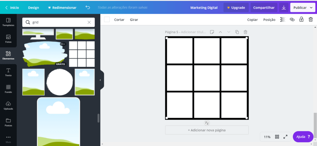 feed mosaico 8 - Feed Mosaico - Como Fazer o Feed Mosaico no Instagram sem Photoshop