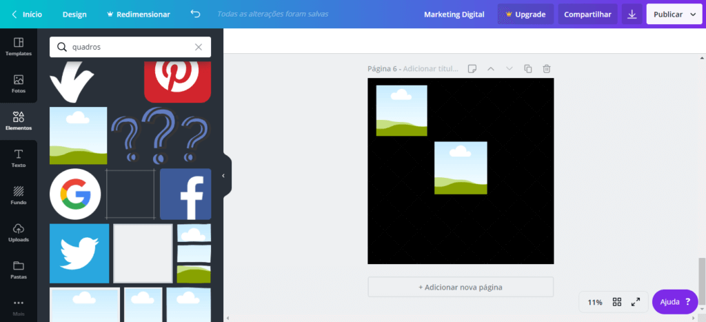 feed mosaico 9 - Feed Mosaico - Como Fazer o Feed Mosaico no Instagram sem Photoshop