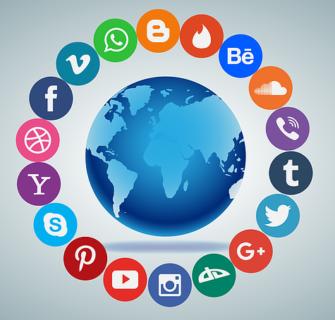 mideias sociais e rede sociais 335x320 - Mídias Sociais e Redes Sociais - Como e Onde Produzir Conteúdo