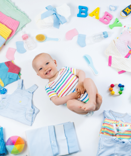 bebe minimalista 3 420x502 - Bebê minimalista – como e porque ter um enxoval minimalista