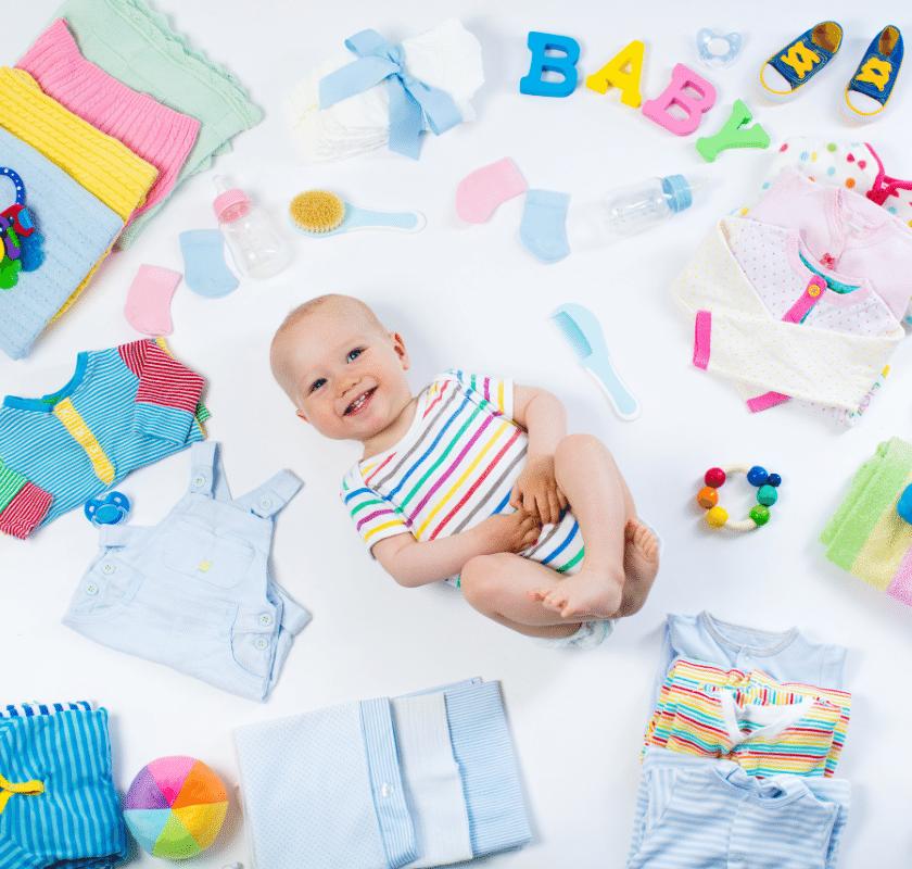 Bebê minimalista – como e porque ter um enxoval minimalista