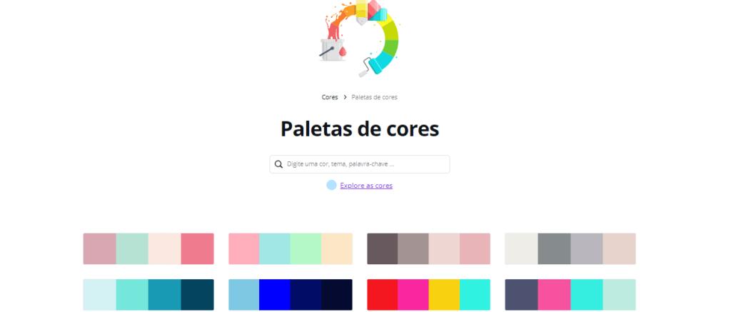 paleta de cores canva2 1024x437 - 3 Formas de criar uma paleta de cores no Canva