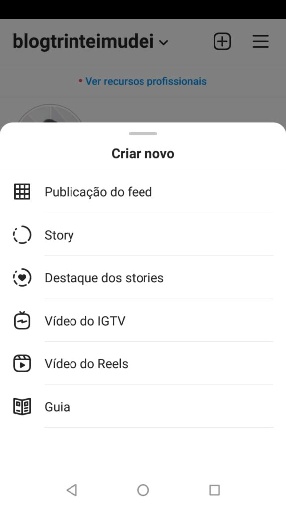 reels instagram 576x1024 - Reels Instagram – Como fazer reels com fotos ou frases de um jeito prático!
