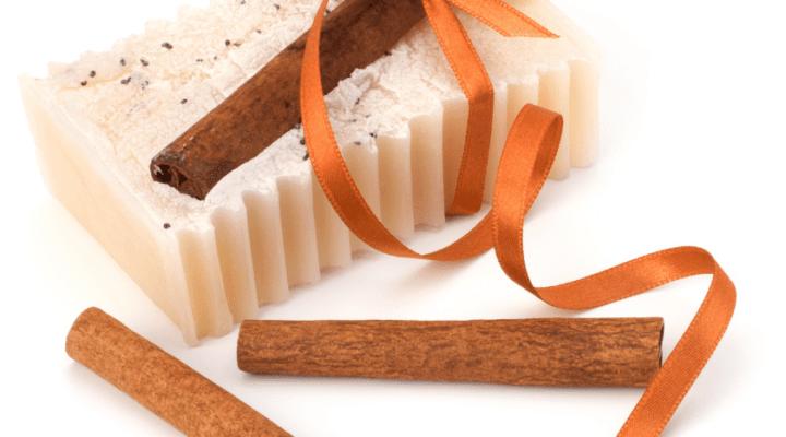 Receita de sabonete de canela e cenoura – Sabonete bronzeador