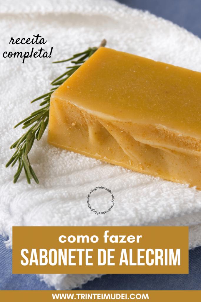 sabonete de alecrim 683x1024 - Receita de sabonete artesanal de alecrim passo a passo