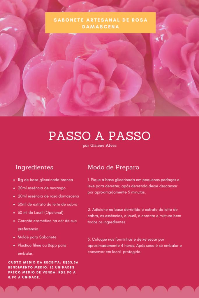Rosa Damascena 683x1024 - Receita de sabonete artesanal de rosa damascena passo a passo