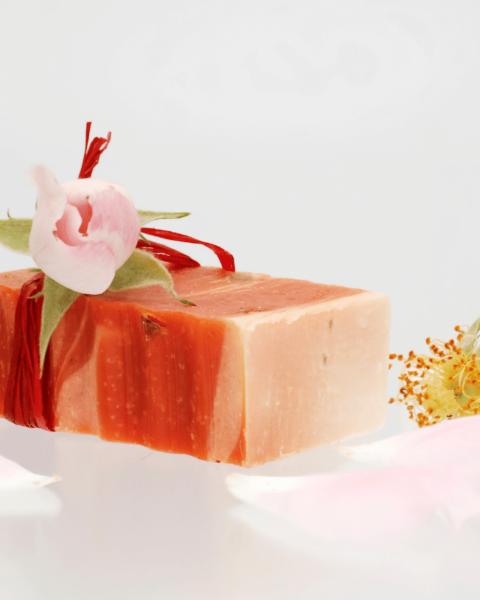 rosa damascena 1 480x600 - Receita de sabonete artesanal de rosa damascena passo a passo
