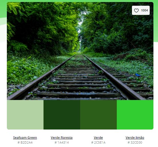 paleta de cores verde menta - Modelos de paleta de cores verde - 10 combinações inspiradoras
